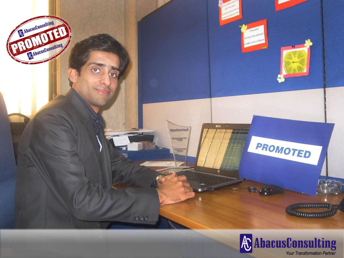 Mr. Muhammad Abbas Khan - ITS-MME (Sr. Managing Consultant) - AbacusConsulting
