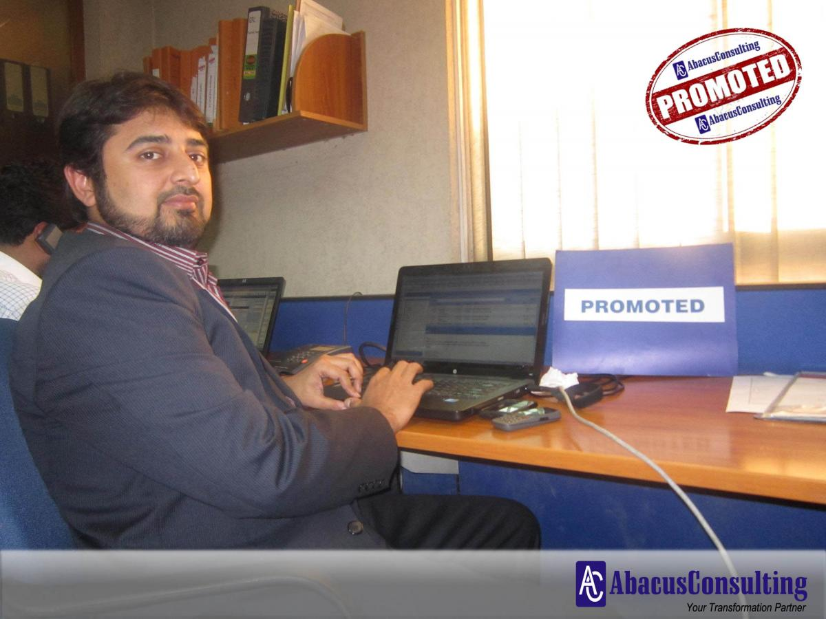 Mr. Awais Majeed - ITS-MME (Managing Consultant) - AbacusConsulting
