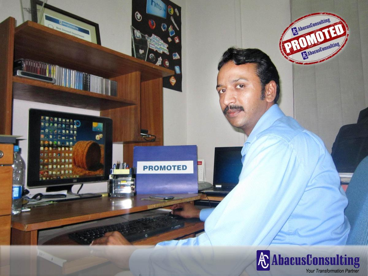 Mr. Mirza Fareed Ud Din - CIT (Web Master) - AbacusConsulting