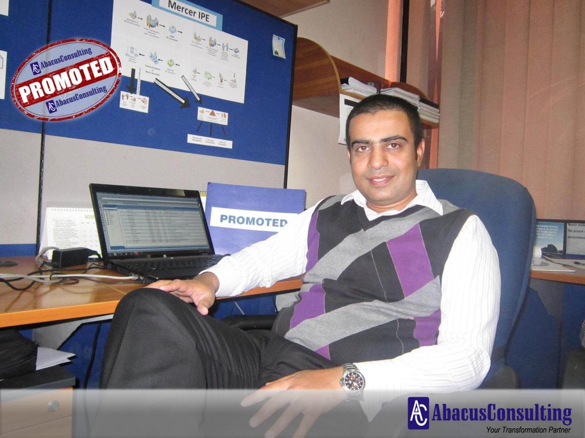 Mr. Muhammad Irfan Khan - HCS-HCM (Sr. Managing Consultant) - AbacusConsulting