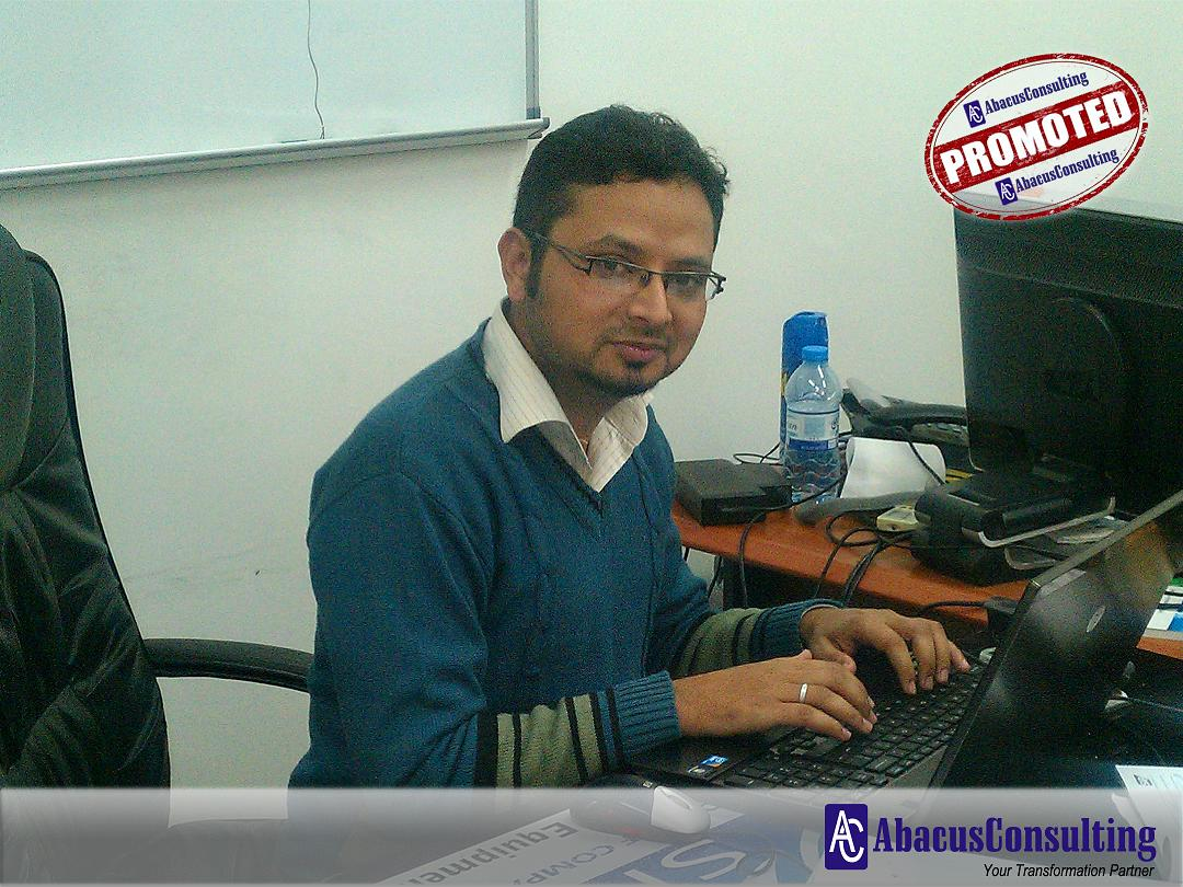 Mr. Muhammad Madad - ITS-MME (Sr. Consultant) - AbacusConsulting