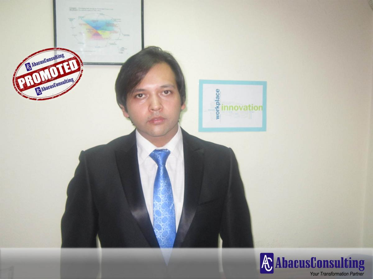 Mr. Shoaib Khan - ITS-ADM (Vice President) - AbacusConsulting