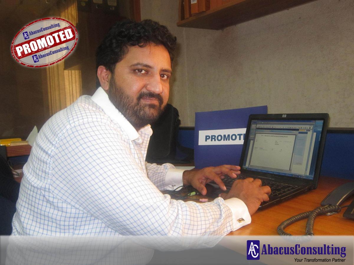 Mr. Sohail Anwar Ali - ITS-MME (Sr. Consultant) - AbacusConsulting