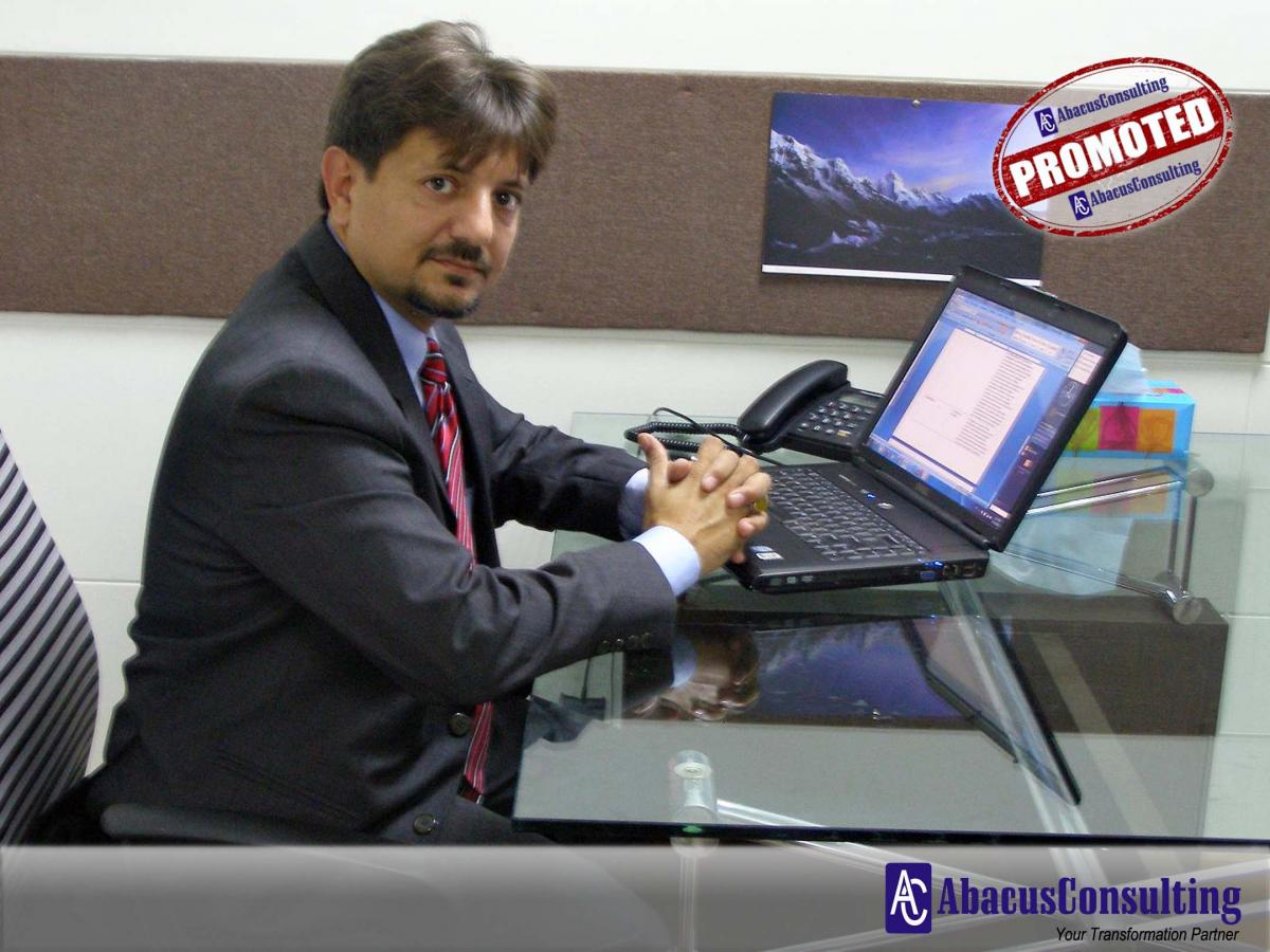 Mr. Syed Saqlain Haider - BTS-PDM (Vice President) - AbacusConsulting