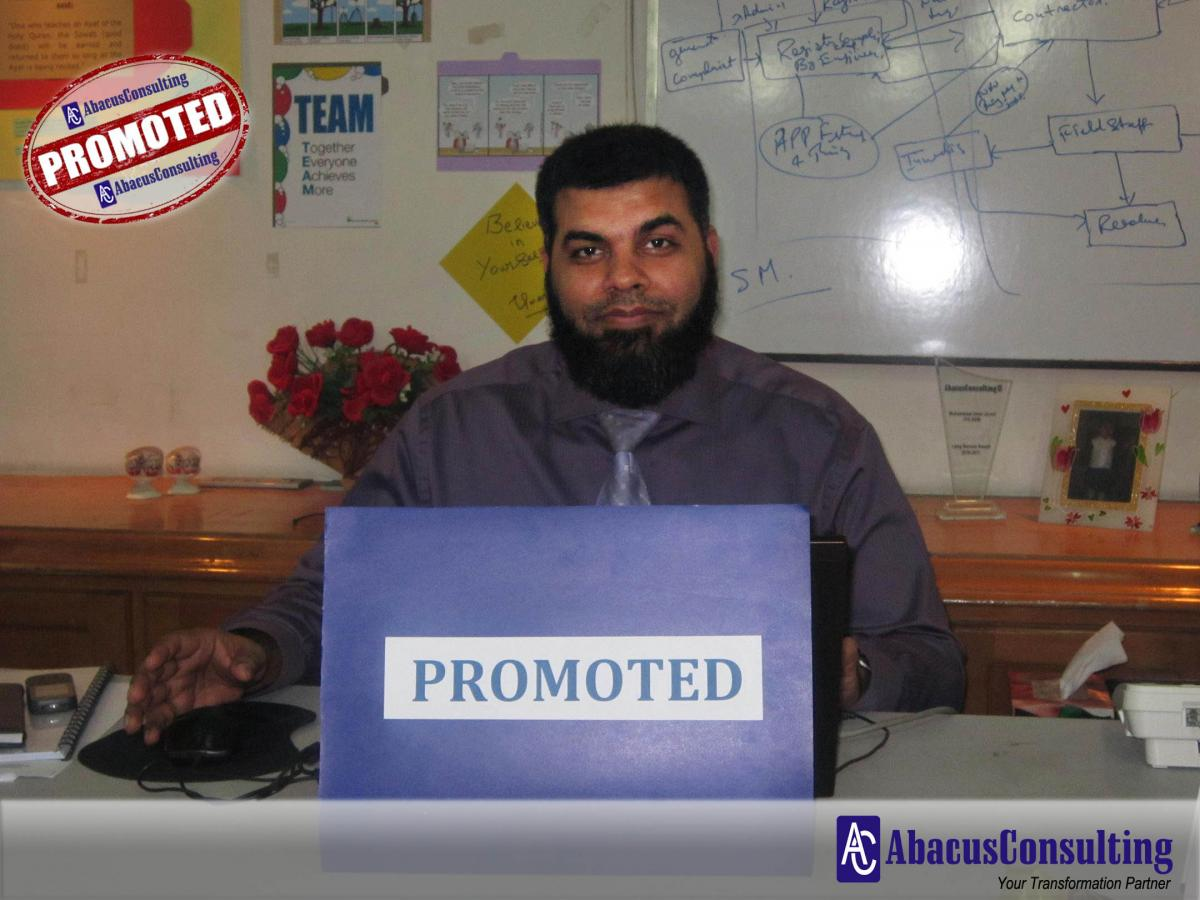 Mr. Muhammad Umer Javed - ITS-ADM (Assistant Vice President) - AbacusConsulting